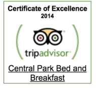 About Us, Central Park Boutique Bed & Breakfast Hotel