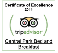 Special Offers, Central Park Boutique Bed & Breakfast Hotel